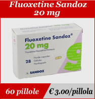 Fluoxetine Sandoz 20mg